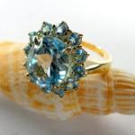 creazioni arnone anello acquamarine
