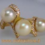 creazioni arnone anello perle e brillanti