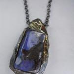creazioni arnone ciondolo opale pezzo unico