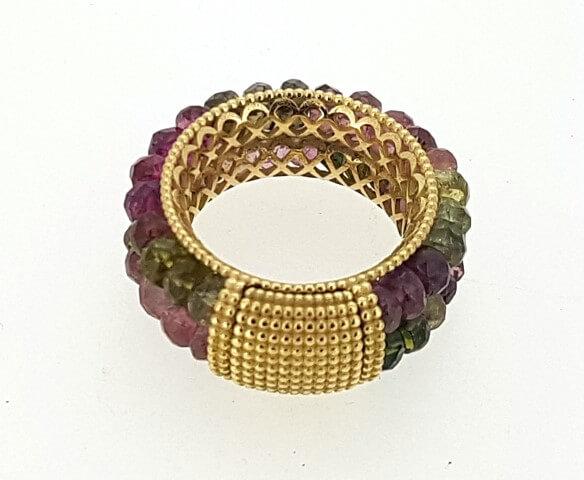 anello-oro-giallo-e-tormaline-orafo-arnone-gioielleria-pescara