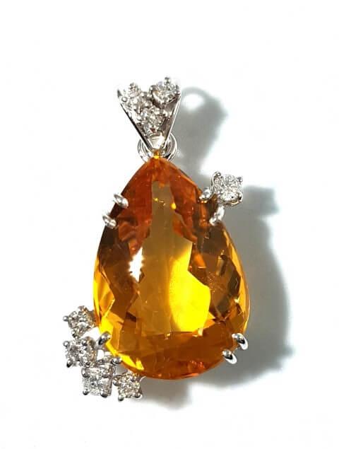ciondolo-artigianale-oro-quarzo-topazio-citrino-diamanti-orafo-arnone-gionatan-gioielleria-pescara