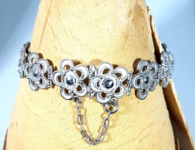 bracciale argento artigianale orafo Arnone
