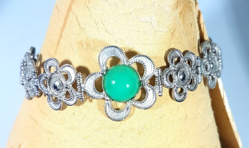 Bracciale argento artigianale orafo Arnone Pescara