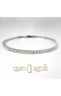 Tennis Oro Bianco e Diamanti art.4542 TR ct.3.25