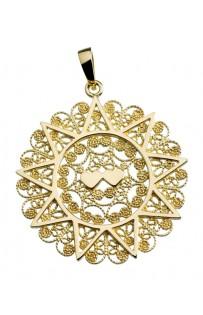 Ciondolo presentosa in oro giallo 750 cm 3,2 PT3C