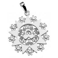 Ciondolo presentosa P05C  in argento 925%° Cm 2.5