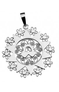 Ciondolo presentosa P6C in argento 925%° Cm 2.8