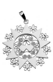 Ciondolo presentosa P7C in argento 925%° cm 3.2