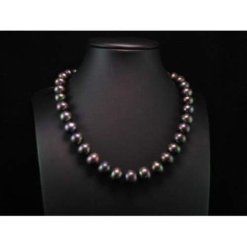 grande vendita a6f5b 413cd Collana Perle nere di acqua dolce